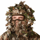3D Face mask leafcamouflage