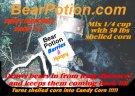 Bear potion, bete och lockmedel för