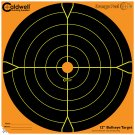 12 Orange Peel® Bullseye Targets