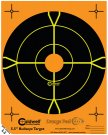 "5.5"" Orange Peel® Bullseye Targets"