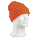 knitted hat orange