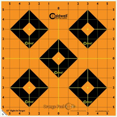 12 Orange Peel® Sight-In Target