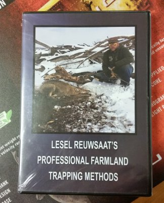 fällfångst, video, dvd, Professional Farmland Trapping Methods