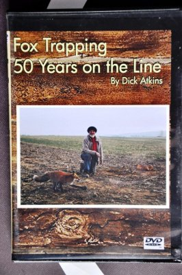 "Dick Atkins' ""Fox Trapping: 50 Years on the Line"""
