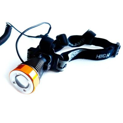 TrustFire H6, Zoombar, pannlampa, eftersökslampa, campinglampa, CREE XM-L T6, trustfire, skidlampa, led pannlampa, led lampa,