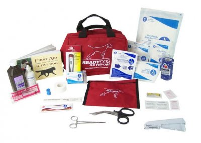 Icke gamla Ready Dog Gun Dog First Aid Kit (Hund) MO-58