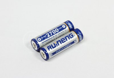 Laddbara batterier Rujen 2-pack