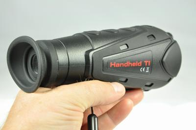The Vanguard IR510 is the lightest handheld thermal image