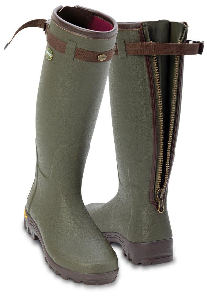 ARXUS PRIMO LEATHER ZIP, läder, stövel, naturgummi, jaktstövel
