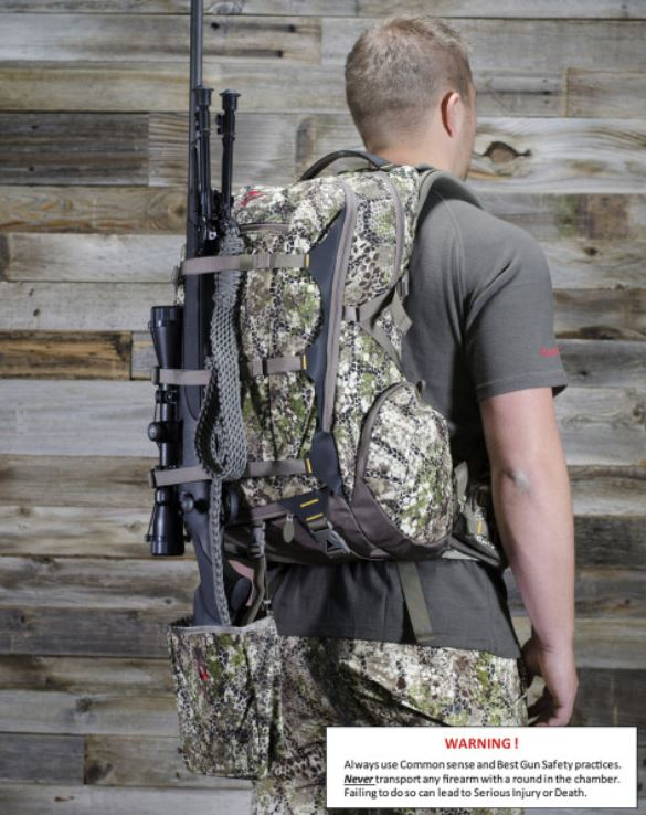 Badlands, Rifle, Boot, apenhållare, vapenfäste, ryggsäck
