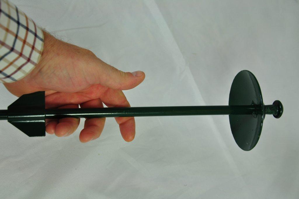 "Amazon.com : Grip 22"" Heavy Duty Dog Tie Out Stake : Grip ... |Dog Tie Out Stake"